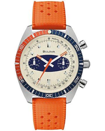 Relógio Bulova Surf Board Quartz 98a254 Deep Sea Cronograph