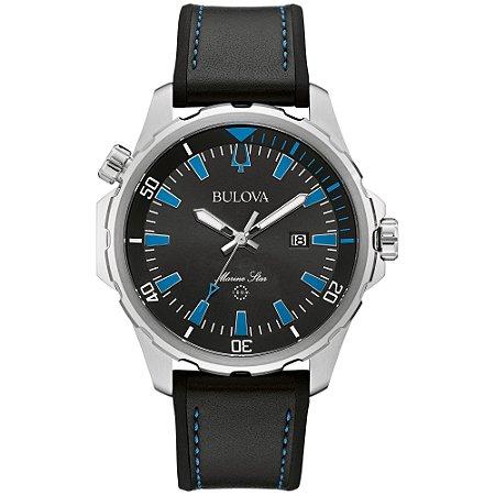 Relógio Bulova Marine Star Quartz Masculino 96b337