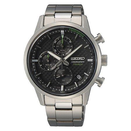 Relógio Seiko Titanium cronograph Ssb389b1 Masculino