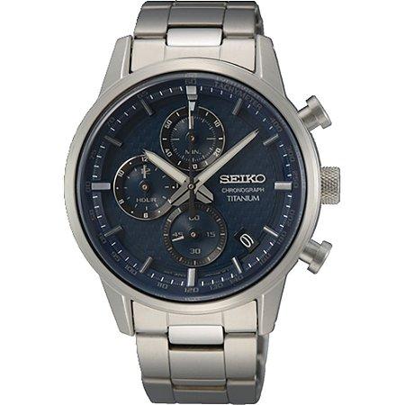 Relógio Seiko Titanium cronograph Ssb387b1 Masculino