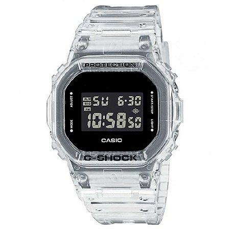 Relogio Casio G-SHOCK DW-5600SKE-7DR Transparent Pack