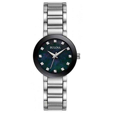 Relógio Bulova Futuro Diamond 96p172 feminino