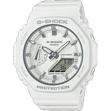 Relogio Casio G-shock Carbon Core Guard GMA-S2100-7ADR OAK Feminino