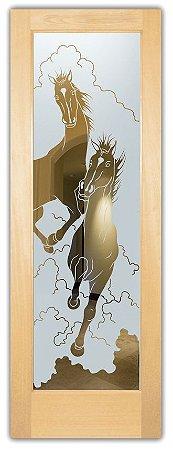 Adesivo Jateado Cavalos