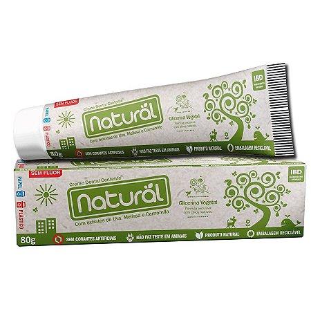 Creme Dental Contente 80g - Organico Natural