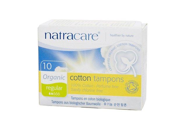 Absorvente Orgânico Interno Regular c/10 Und - Natracare