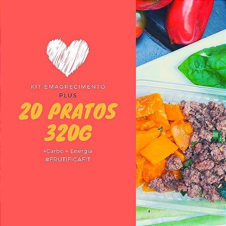 Kit Emagrecimento Plus - 20 pratos (320g)