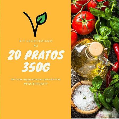 Kit Vegetariano #2 - 20 pratos (350G)