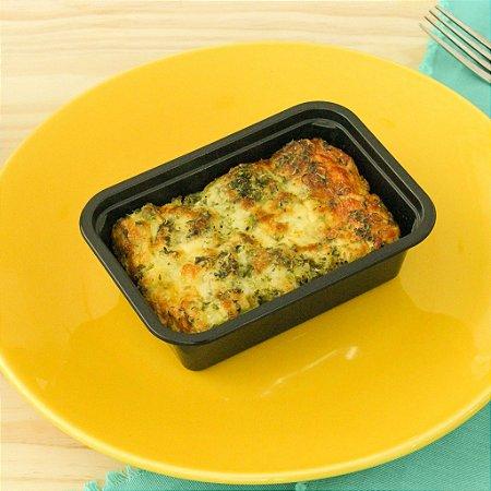 Omelete de forno com brócolis e queijo branco 280g