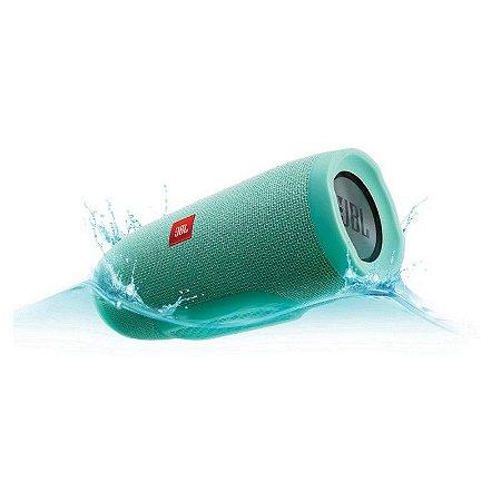 Som Portatil JBL Harman Charge 3 Bluetooth Original - Verde