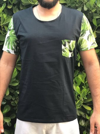 Camiseta DUKBIDE manga florida