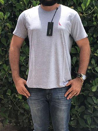 Camiseta Masculina Passaro Cinza Griffe