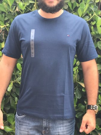 Camiseta Masculina Tommy Hilfiger Azul Escuro