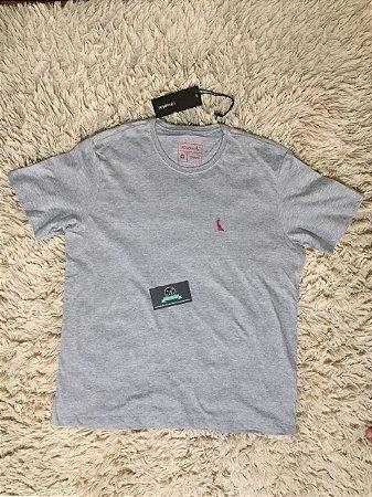 Camiseta Masculina Reserva Cinza Basica