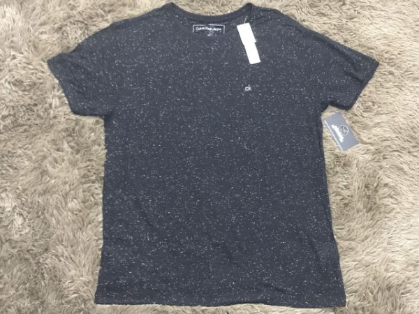 Camiseta Masculina Calvin Klein Pontilhada