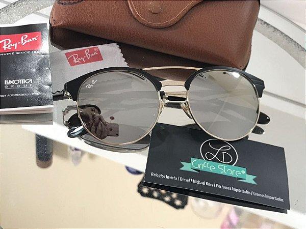 Óculos de Sol Ray Ban New ClubRound Espelhado RB 3545