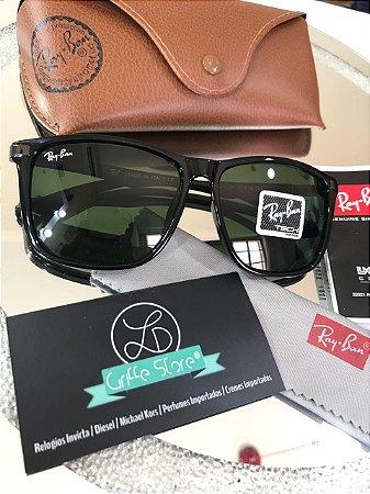 Óculos de Sol Ray Ban Justin Lente Verde Polarizado RB 4129