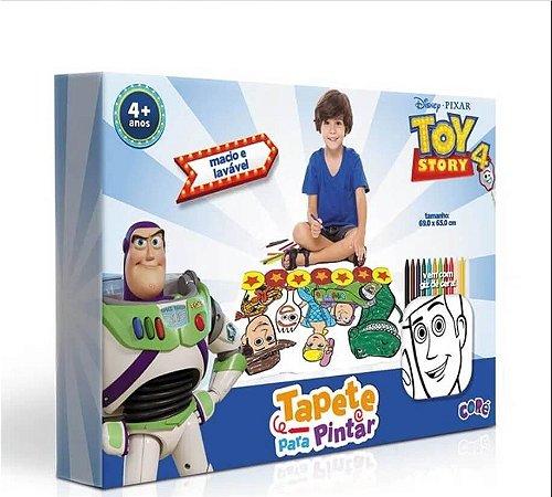 Tapete Para Pintar Toy Story 4 - Lavável E Reutilizável