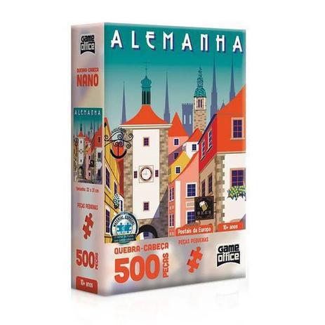 Quebra Cabeça 500 Peças Alemanha Rotemburgo - Toyster