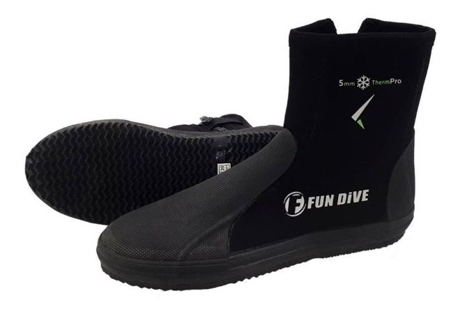 Bota Neoprene Fun Dive B01 5mm Solado Vulcanizado n°41