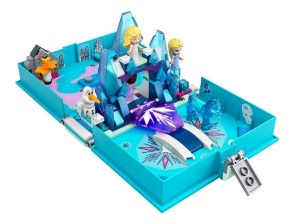 Lego Frozen 43189 Disney O Livro De Aventuras De Elsa E Nokk