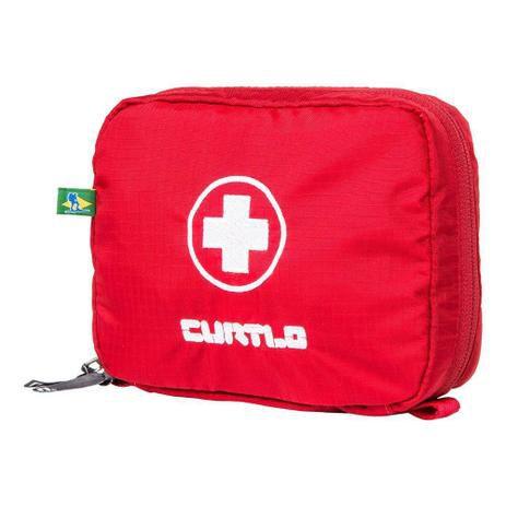 Estojo Para Primeiros Socorros Kit Ps M - Curtlo Vermelha