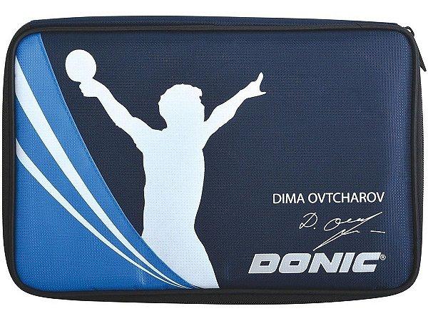 Capa Case Raqueteira  Donic Ovtcharov Raquete Tênis De Mesa