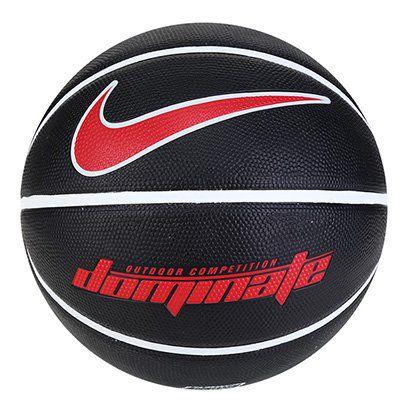 Bola De Basquete Nike Dominate 8pTam 7 Pta Branca e Vermelha
