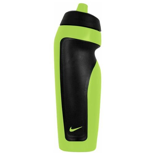 Garrafa Nike Sport Water Bottle Verde Limão e Preta