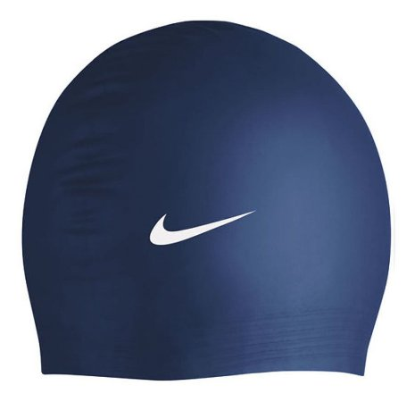 Touca De Natação Nike Solid Silicone Cap - 440 Azul Marinho