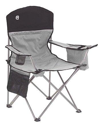 Cadeira Dobrável Cooler Térmico E Porta Copo Cinza -coleman