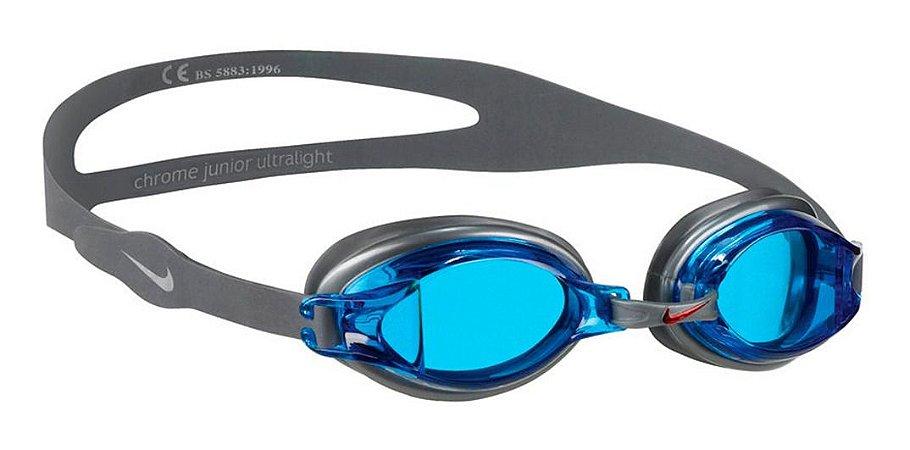 Óculos De Natação Nike Chrome - 007 - Blue