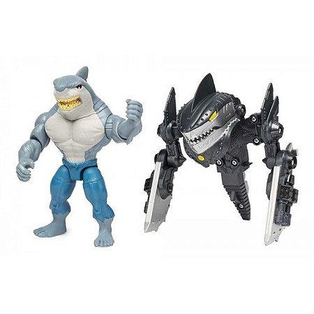 Batman  Mini Figura De Luxo 10 Cm King Shark  Sunny 2183