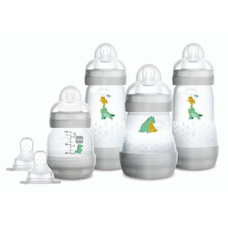 Kit Mamadeiras Mam Easy Start Gift Set Cinza 4690