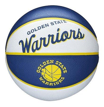 Bola De Basquete Nba Team Retrô Mini Golden State Warriors