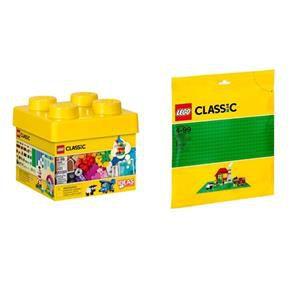 Lego Classic 10692 Peças Criativas + base verde 10700