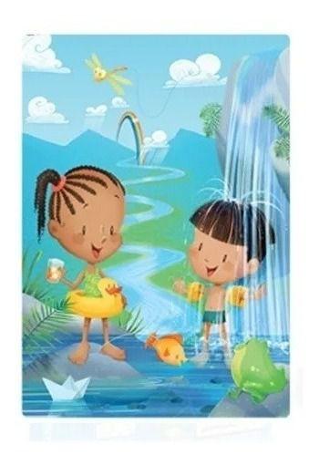 Quebra Cabeça Infantil Explorando A Natureza Água - Toyster