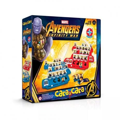 Cara A Cara Avengers Vingadores Guerra Infinita Estrela