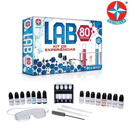 Jogo Lab 80 Brinquedos Estrela
