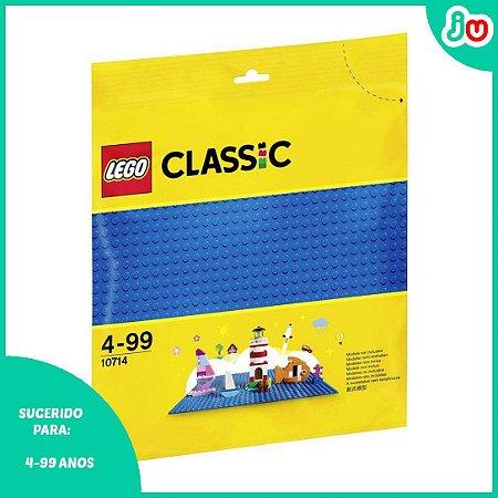 Lego Classic 10714 Base Azul Blue Baseplant