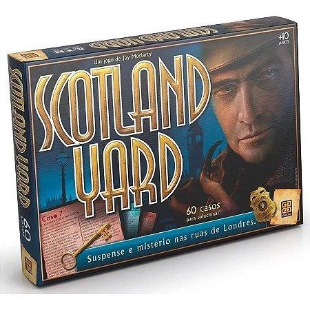 Jogo de Tabuleiro e Suspense Scotland Yard Tradicional