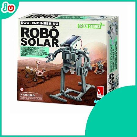 Robô Solar 4M Brinquedo Educativo Eco Engenharia
