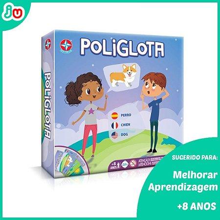 Jogo Poliglota - Estrela - Jogo de Aprendizagem