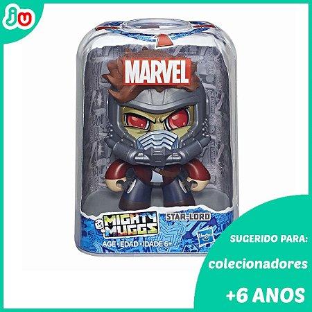 Mighty Muggs Star Lord Guardiões das Galáxias Marvel Hasbro