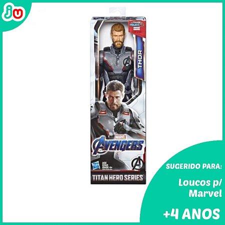 Boneco Thor Titan Hero 30cm Marvel Vingadores Hasbro Figura