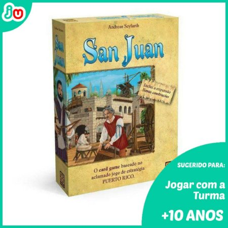 Jogo San Juan Card Game - Grow