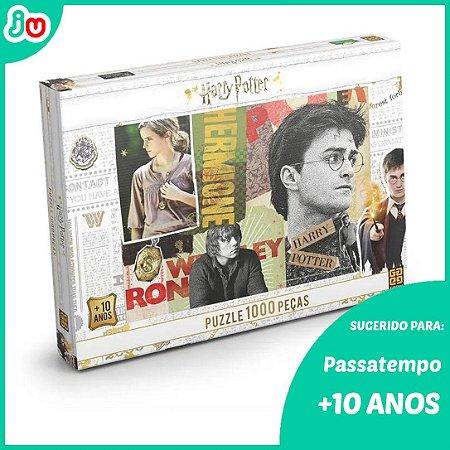 Quebra Cabeça 1000 Peças Harry Potter - Grow
