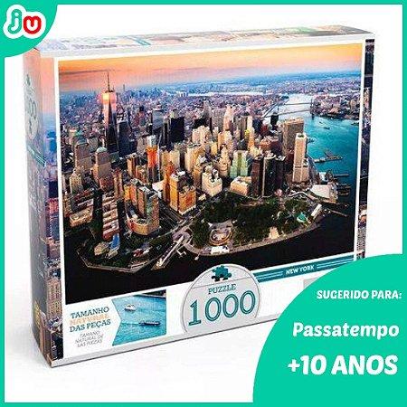 Quebra Cabeça 1000 Peças Nova York - Grow Puzzle
