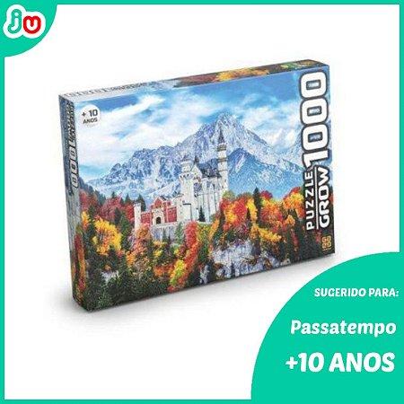 Quebra Cabeça 1000 Peças Castelo de Neuchwanstein Grow