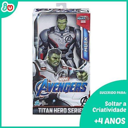 Boneco Hulk Guerra Infinita Titan Hero Deluxe Marvel Hasbro